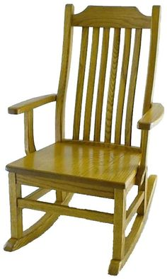 Amish Mission Kids' Rocking Chair
