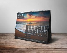 2019 Desk Calendar on Behance Kalender Design, Calendar Time, Desk Calendars, My Favorite Things, Behance, Creative, Wallpaper, Dress, Art