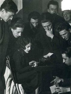 Simone Breton et les Dadas 1922 | Diglee