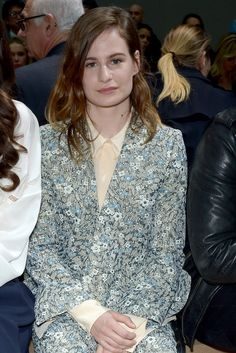 HÉLOÏSELETISSIER WHO: The singer, better known as Christine and The Queens, arrived at Paris Fashion Week fresh off her awards for Best Female Artist and Best Video at Les Victoires de la Musique (France's Grammys). AGE: 26 UP NEXT: Letissier will release her EP Saint Claude in the U.S. in April before playing some live dates there. WHERE: Chloé.