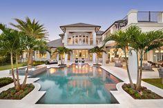 Villa de rêve pour des vacances exotiques au bord de la mer en Floride