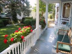 Beautiful Front Porch.