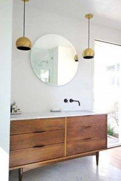 Mid-Century Modern Bathroom Ideas-10-1 Kindesign