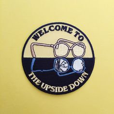 Show your support for Stranger Things and its greatest character. Welcome to the Upside Down... Patch measures 7.5 cm in diameter. Please check the size before buying! Please read my shop policies and FAQs carefully before making a purchase. You can find them on the Shipping & Policies tab under the listing pictures or via this link: https://www.etsy.com/uk/shop/fairycakes?ref=hdr_shop_menu#policies DIRECTIONS: 1. Set the iron to the hottest setting your...