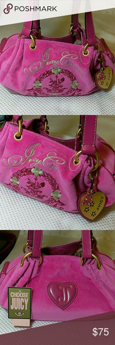 Juicy Couture Bag Brand new with tags. Very adorable. Excellent condition. Juicy Couture Bags Satchels