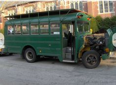 This bus has done a lot of long distances,  It has a brand new Jasper rebuilt 7.3 liter diesel engine,  It has an Allison transmission with about 65K on it.  AND it's been converted to run on WVO (waste vegetable oil)!  http://boston.craigslist.org/bmw/cto/5617414349.html