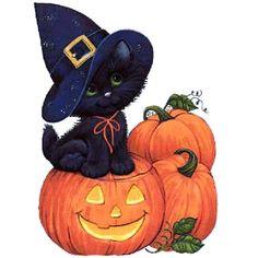 halloween cartoons 'Halloween cat' Photographic Print by Medly Chat Halloween, Image Halloween, Halloween Cartoons, Halloween Drawings, Halloween Clipart, Theme Halloween, Halloween Pictures, Halloween Pumpkins, Fall Halloween