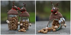 Heklet Rudolf til kakeglasset -super gaveidé!