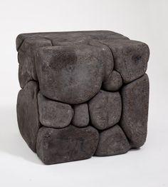 Organisms 2 by Damian Ortega Sculptures Céramiques, Art Sculpture, Pottery Sculpture, Abstract Sculpture, Concrete Sculpture, Concrete Art, Contemporary Ceramics, Contemporary Art, Parametrisches Design