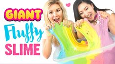 EASY DIY GIANT FLUFFY SLIME!!! Jumbo Rainbow Slime Recipe WITHOUT BORAX!  #LifeHacks  #, #Borax, #DIY, #Easy, #Fluffy, #FluffySlime, #FluffySlimeRecipe, #Fun, #GIANT, #GiantSlime, #HugeSlime, #Jumbo, #JumboSlime, #Kids, #PerfectSlime, #PLAY, #Playing, #Rainbow, #Recipe, #Slime, #SlimeRecipes, #SLIMES