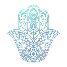 The Hamsa Hand - Spiritual Yoga Symbols and What They Mean - Mala Kamala Mala Beads