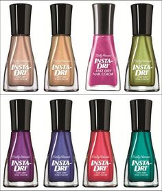 Sally Hansen Insta-Dri Fast Forward to Fashion Collection! (Click through for the official press release & promo pictures.)