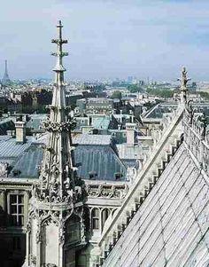 Spire of La Sainte Chapelle - Paris