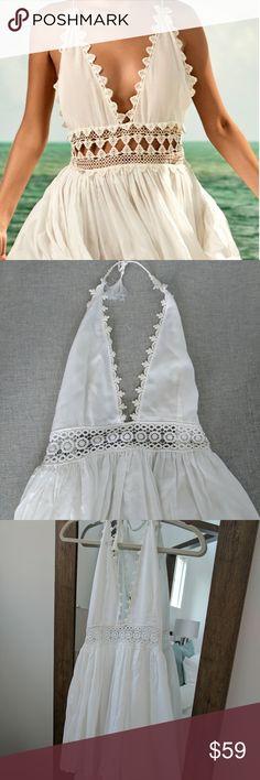 Spotted while shopping on Poshmark: PILYQ water lily celeste dress! #poshmark #fashion #shopping #style #Pilyq #Dresses & Skirts