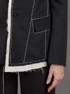 YOHJI YAMAMOTO - Long sleeve blazer 6