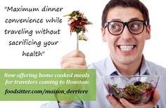 Got friends or family visiting Houston & they need a place to stay? They can check out JoAnn's guest house Maison Derrière - the only Airbnb rental with in-built Foodsitter chef  Everyone needs a home cooked meal - especially travelers!  To view prices & book stress free meals at Maison Derrière, visit: http://foodsitter.com/maison_derriere