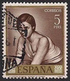 Estampilla España, 1965 - La chiquita piconera