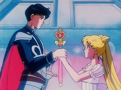 Animated gif in Sailor Moon 🌙✨ collection by Bia-chan Sailor Moon Gif, Sailor Moons, Sailor Moon Bunny, Sailor Moon Wallpaper, Sailor Uranus, Sailor Neptune, Sailor Moon Aesthetic, Aesthetic Anime, Sailor Moon Kristall