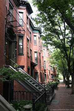 Boston's South End... three years living here has given me crazy high expectations for a neighborhood!