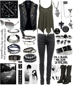 """""""I'm walking down the line that divides me somewhere in my mind"""" by rukiakuchiki12341 ❤ liked on Polyvore"""