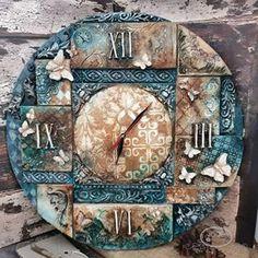 Cat Clock, Clock Art, Good Time Management, Free To Use Images, Wall Clock Design, Decoupage Vintage, Grandfather Clock, Louis Xvi, Diy Wall Art