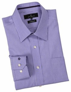 Jeff Banks - Purple Stripe Buisness Shirt
