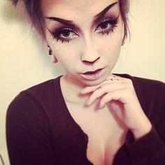 LADY CUBE on TUMBLR Deer Makeup