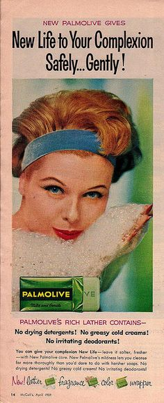 "Palmolive Ad    ""McCall's""  April 1959"