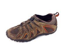 Merrell Shoes 11 Mens Brown Leather Athletic Running #Merrell #RunningCrossTraining