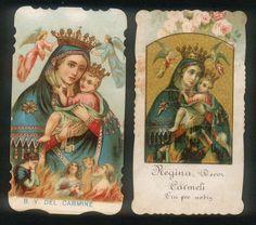 Beata Vergine del Carmelo e Anime Purganti