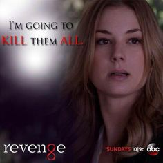 Revenge Emily ∞ I'm going to kill them all Revenge Series, Revenge Tv Show, Revenge Quotes, Tv Series, Best Tv Shows, Favorite Tv Shows, Movies And Tv Shows, Stories Of Forgiveness, Emily Thorne
