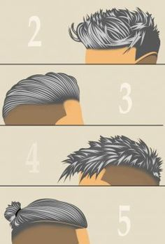 Grey Men Hairstyles & Haircuts – hairdressing pomade – styling and coloring at the same time