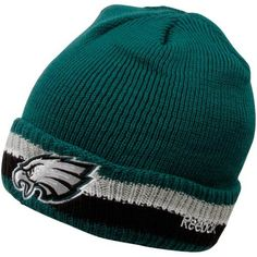 Amazon.com   Reebok Philadelphia Eagles Sideline Coaches Cuffed Knit Hat  One Size Fits All   Sports Fan Beanies   Sports   Outdoors 81a2df4bfc4