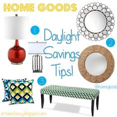 Diy Home decor ideas on a budget. : I Need to Lighten up! A Tale of Home Decor and Daylight Savings Tips!