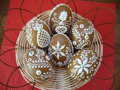 3D gingerbread Eggs