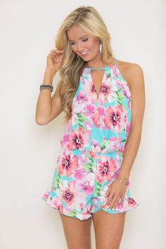 704f2493986c Boutique Rompers Are Everything! Free Shipping on All Orders  50+. Pink Lily  BoutiqueFloral ...