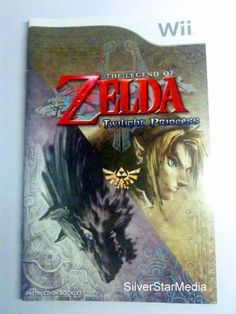 Instruction Manual (Manual only) for The Legend Of Zelda: Twilight Princess (Nintendo Wii) « Library User Group