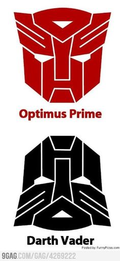 Optimus Prime - Darth Vader