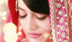 Surbhi Jyoti as Zoya in popular Indian TV Serial 'Qubool Hai' (w/ Nath in Nose)