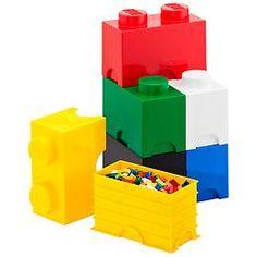 The Container Store > Medium LEGO® Storage Brick