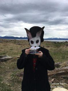Creepy Bunny Mask White rabbit mask purge mask Halloween Costume Masquerade mask fantasy mask zombie rabbit mask killer bunny mask scary by CrookedCrowMasks on Etsy Animal Head Masks, Animal Heads, Halloween Masquerade, Halloween Masks, Masquerade Masks, Halloween Carnival, Adult Halloween, Scary Halloween, Halloween Cosplay