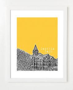 Georgia Tech print.