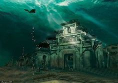 Metropolis: Shi Cheng, dubbed Lion City after the Lion Mountains that surround it, has lain hidden under 131 feet of water since 1959 to gen...