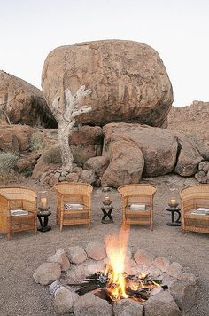Mowani Mountain Camp - Damaraland, Namibia
