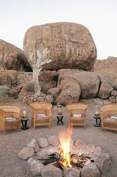 Mowani Mountain Camp - Damaraland, Namibia