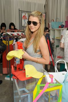 Lo Bosworth @ the Lacoste L!VE Desert Pool Party in celebration of the Music Festival in Palm Springs. April 13-15 2012.