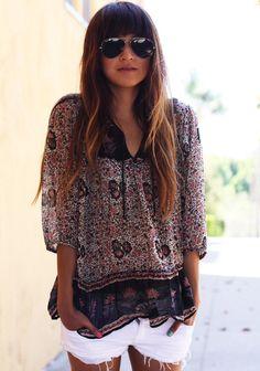 Indian gauze blouse
