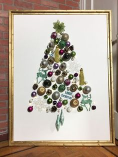She drags a bin of ornaments into a corner for one stunning reason