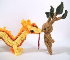 Mandrake Amigurumi Mandrake Root Potter Fantasy by LaPetiteUnicorn