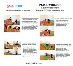 purely fit life workout 4 full body #Plankworkout #move #fitfluential
